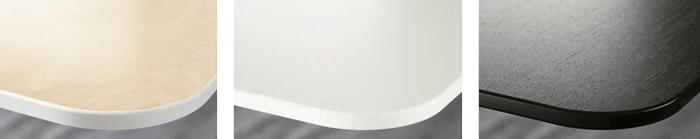 イケアの電動式デスクのカラー3種類