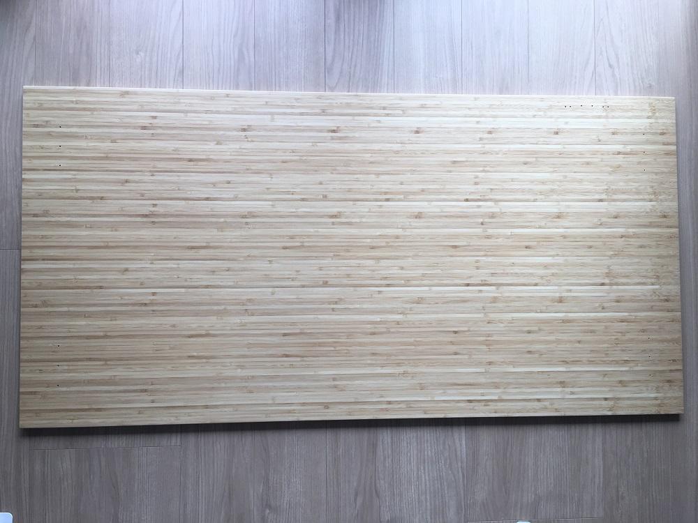 「直角竹板」の板全体の模様を確認