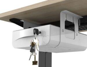 卓下式引き出しを天板に電動ドリルでネジ固定